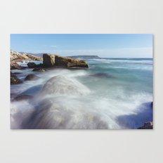 Noordhoek Beach - Long Exposure Seascape Canvas Print