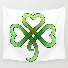 Celtic Clover Wall Tapestry