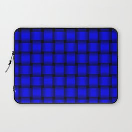 Blue Weave Laptop Sleeve