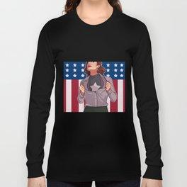 HIT 'EM AGAIN CAP Long Sleeve T-shirt