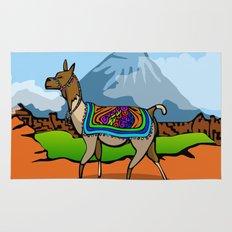 Lofty Llama Rug