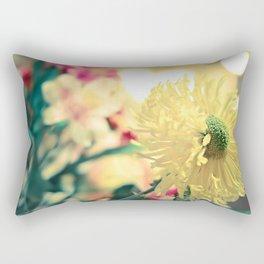 Flowery light Rectangular Pillow