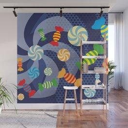 Rainbow Sugar Crush Wall Mural