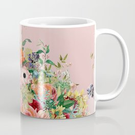 Vintage shell pink bouquet Coffee Mug