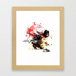 Ninja Japan Framed Art Print
