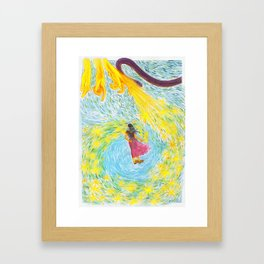 Rue des Chats page 4 Framed Art Print