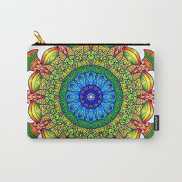 Mandala tropical Carry-All Pouch