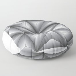 Light and Shadow Floor Pillow