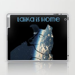 Laika is Home Laptop & iPad Skin