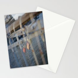 Paris, The Passerelle Debilly Stationery Cards