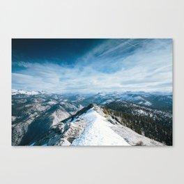 Clouds Rest Canvas Print