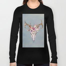 Deer Skull 2 Long Sleeve T-shirt