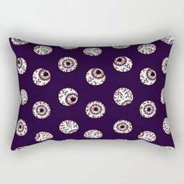 the big brother watches. eye pattern Rectangular Pillow