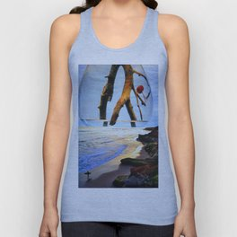 My favorite dreams of you still wash ashore Unisex Tank Top