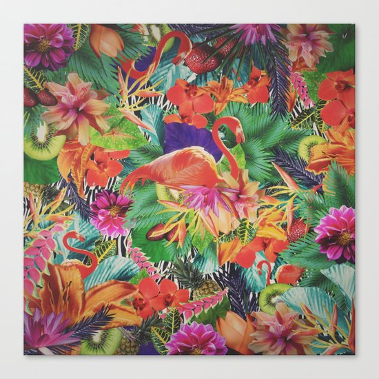 TROPICAL LOVE Canvas Print
