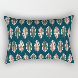 Tropical Plant Lady Rectangular Pillow