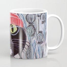 Mittens Ponders the Fibonacci Sequence Coffee Mug