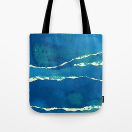 Tempestuous Sea Tote Bag