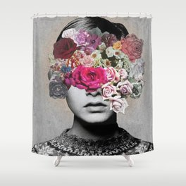 _THE LOOK OF LOVE Shower Curtain