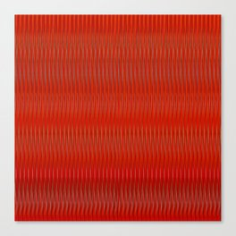 Red stripes Canvas Print