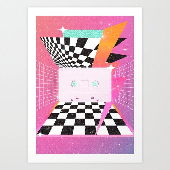 Cassette (feat. Marta Macedo) Art Print