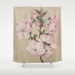 Ariaki - Daybreak Cherry Blossoms Shower Curtain