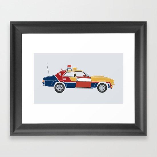 Mad Max RockaStarsky Framed Art Print