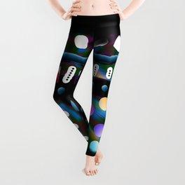 Multitude colorée Leggings