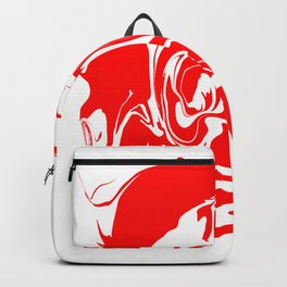 face4 red Backpack