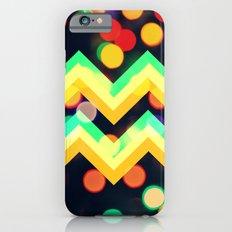 Bokeh Chevron Slim Case iPhone 6s