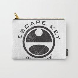 Escape Key Graphics Logo Carry-All Pouch