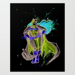 BatGurrl Art Print