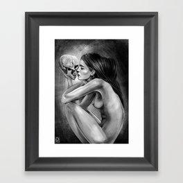 """""""Love You Till The End"""" Framed Art Print"""