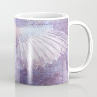 angel wings Mugs featuring WINGS by INA FineArt