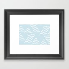 The Mountain Top - in Sky Framed Art Print