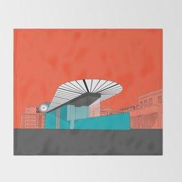 Turquoise Island Throw Blanket