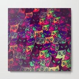 Cats  New colour No. 1 popularity 317 Metal Print