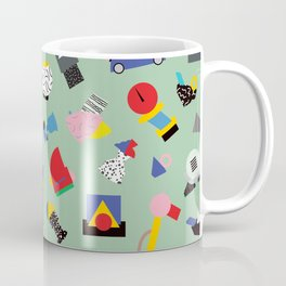 Memphis Milano Sculpture Garden Coffee Mug