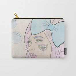Bubbles and Bows Carry-All Pouch