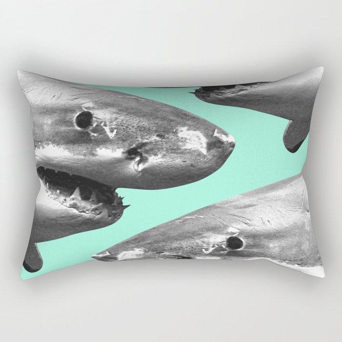 Shark pattern Rectangular Pillow