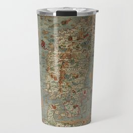 Carta Marina et Description 1539 Travel Mug