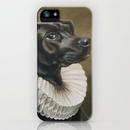 Portrait of a Young Doggo iPhone Case