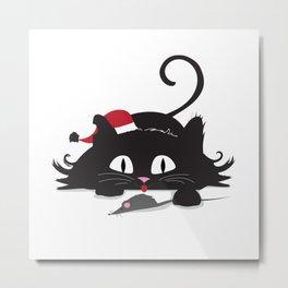 Playful cat Metal Print