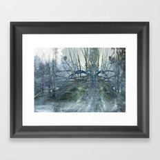 Queen of the forest Framed Art Print