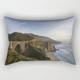 Bixby Bridge at Big Sur Rectangular Pillow