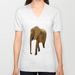 Wildlife big Elephant Unisex V-Neck