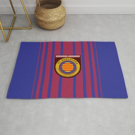 Catalonia Football Badge Rug