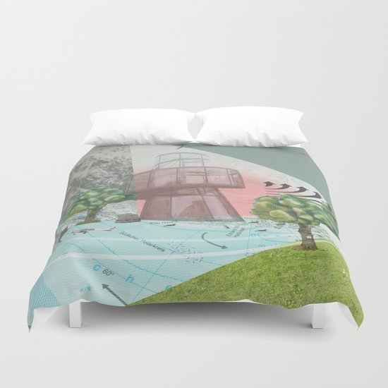 atmosphere 10 · Storm is comming Duvet Cover