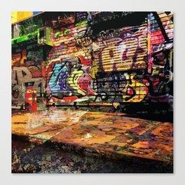 Untitled 2018, No. 17 Canvas Print