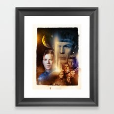 Star Trek Framed Art Print